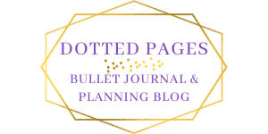 Dotted Pages Bullet Journal Blog